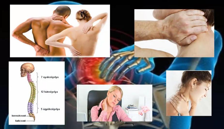Az egészséges gerincért masszázzsal